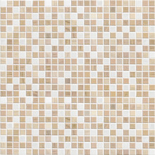 Delicate Color Brown Mosaic Tile Wall