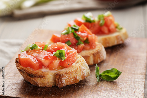 Recess Fitting Appetizer simple italian appetizing bruschetta with tomato