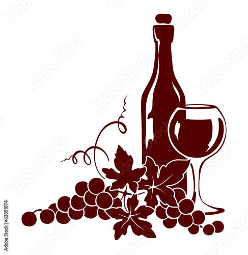 element-projektu-winorosl-i-butelka-wina