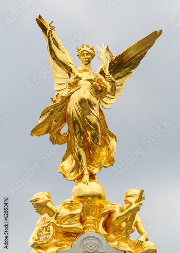 Canvas Print Queen Victoria Memorial in London