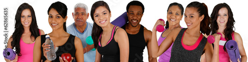 Fotografia, Obraz  Group Workout