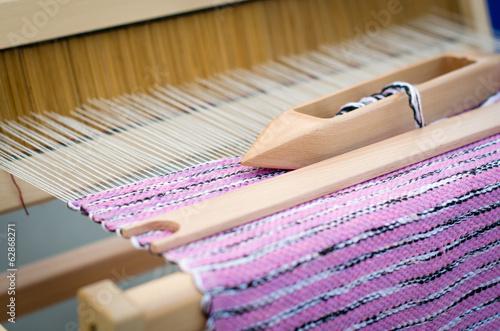 Fotografie, Obraz  Old weaving loom