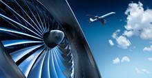 Turbine Und Flugzeug