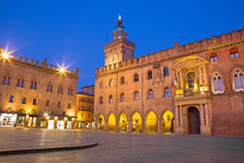 Bologna - Palazzo Comunale And...