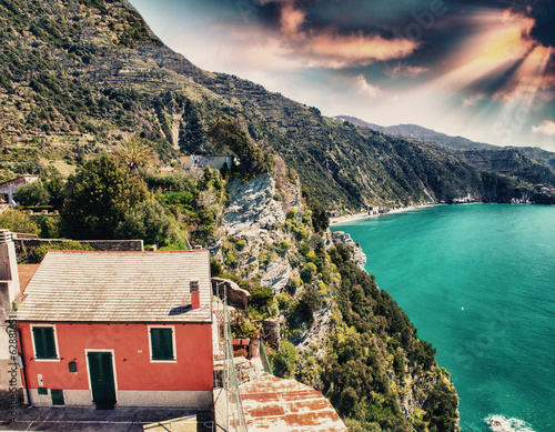 Photographie  Scenic Ligurian Coast of Cinque Terre