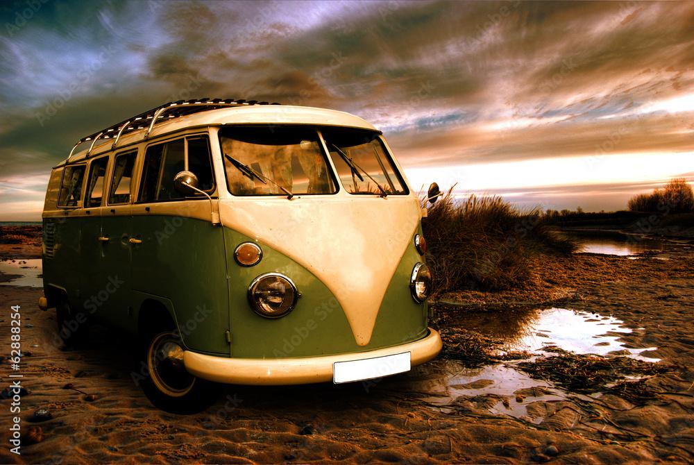 Fotografie, Obraz  Einsamkeit am Strand