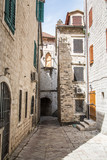 Kamienne korytarze w Kotor