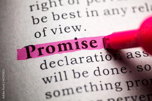 Valokuva promise