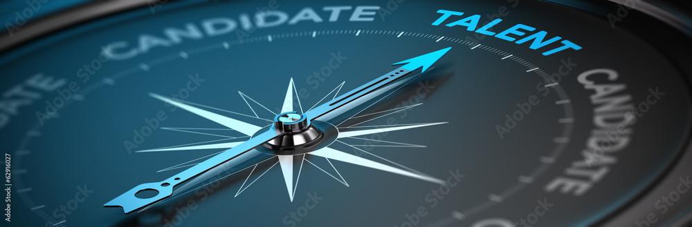 Fototapeta Talent Acquisition - Recruitment Concept