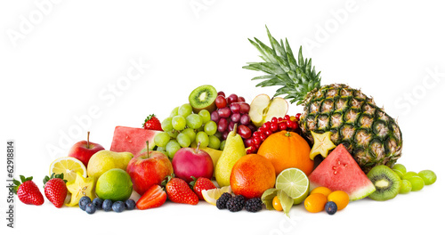 Keuken foto achterwand Vruchten Fruits