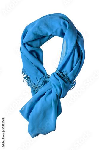 Fotografie, Obraz  Blue scarf