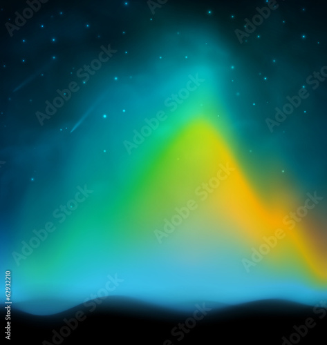 Photo  Aurora background