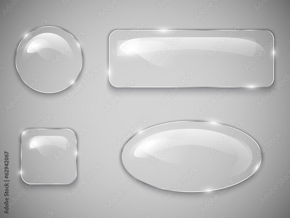 Fototapeta Glass buttons