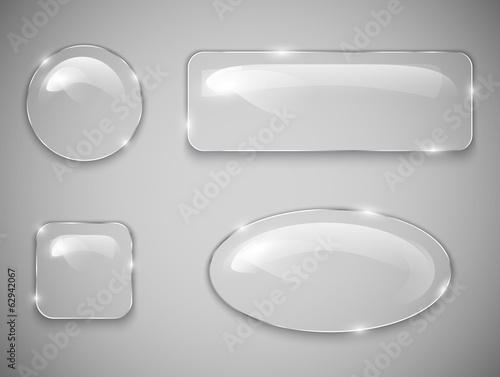 Glass buttons Poster Mural XXL