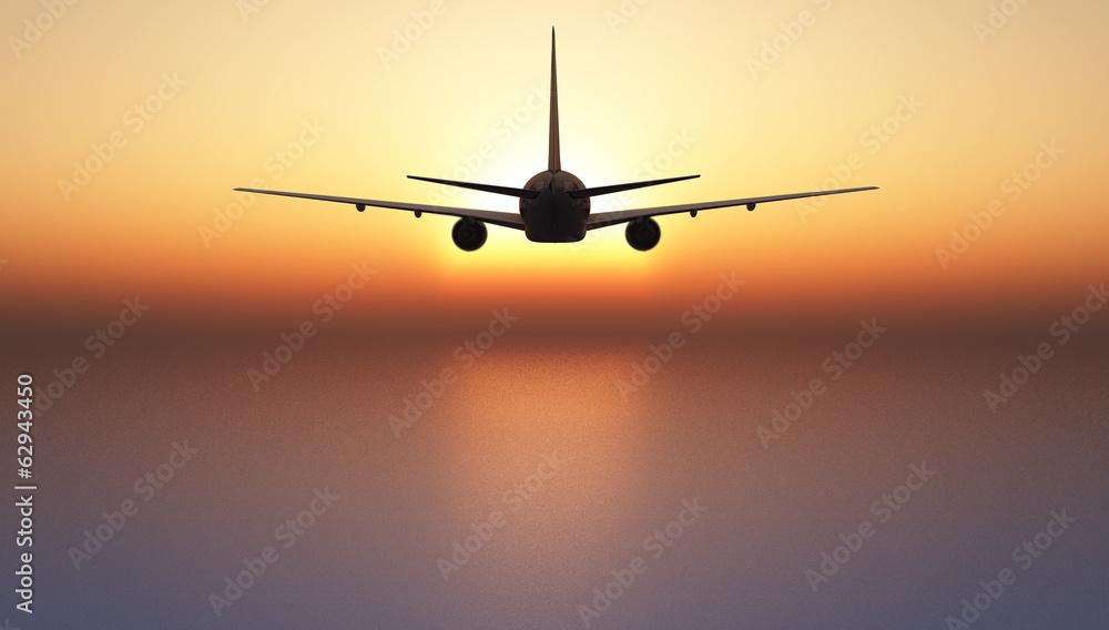 Fototapety, obrazy: avion de pasajeros