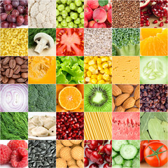 FototapetaHealthy food backgrounds