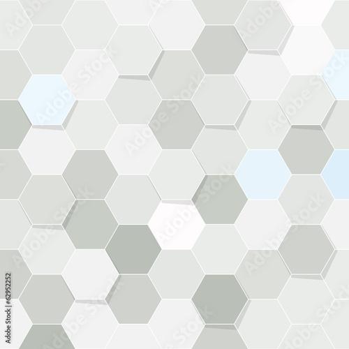 Hexagon tile transparent background