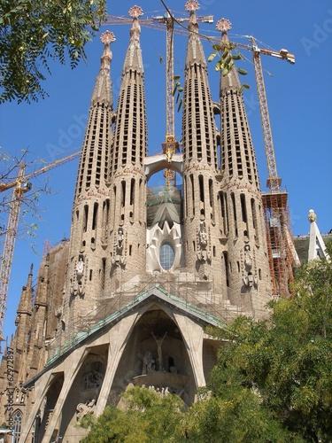 Papiers peints Barcelona sagrada familia barcelona