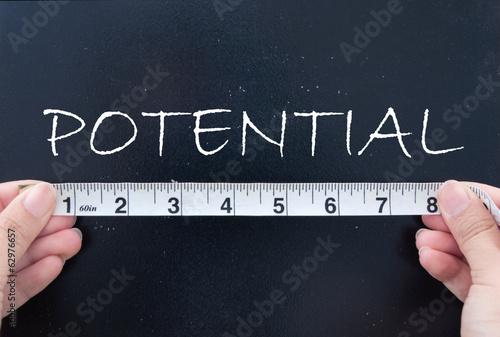 Fotografie, Obraz  Measuring potential