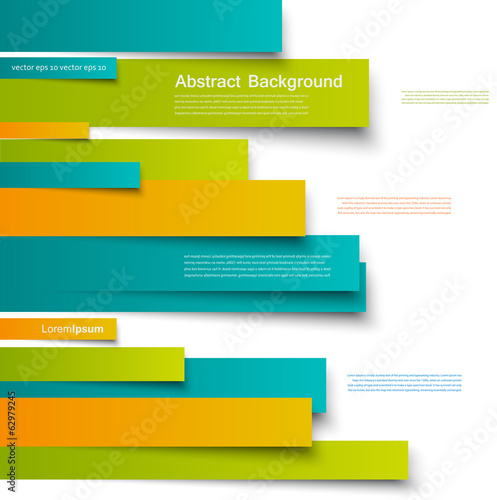 Photo  Vector  design. Abstract lines brochure and card