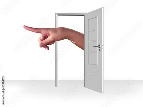 Fotografie, Tablou  out of the door