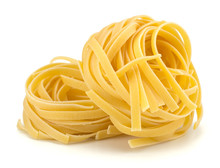 Italian Egg Pasta Nest Isolate...