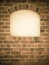 Old Arch Arc Niche With Copy S...