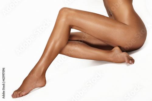 Poster Pedicure Long legs.