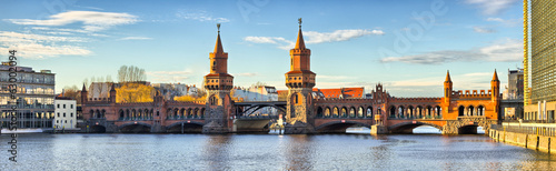 Photo  Oberbaum bridge in Belin - Germany