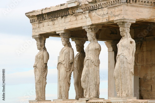 Printed kitchen splashbacks Athens Maidens at Parthenon Acropolis Greece