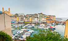 The Old Town Of Bastia