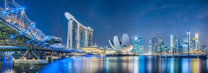 Grad Singapur noću