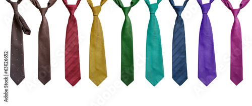 Fotografie, Obraz  Set of neckties