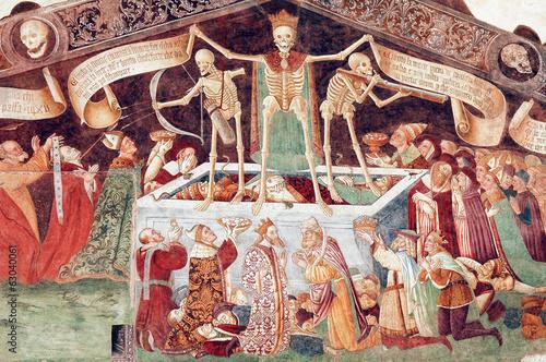 Photo  Clusone, fresco