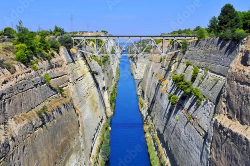 Corinth canal Tapéta, Fotótapéta