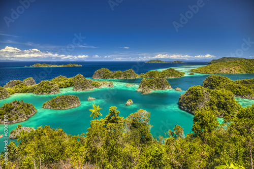 Foto auf AluDibond Indonesien Fam islands