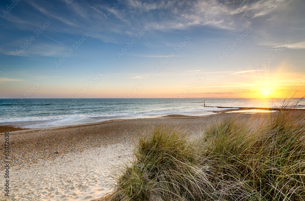 Fototapeta Sunset Beach