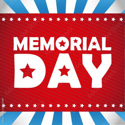 Fotografía  Memorial Day design