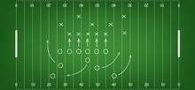 American Football Field Background