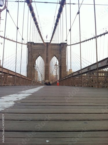 Foto op Canvas Brooklyn Bridge Puente de Brooklyn, Manhattan, New York