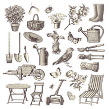 Collection Of Vintage Garden D...