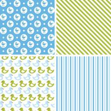 Baby Boy Seamless Patterns