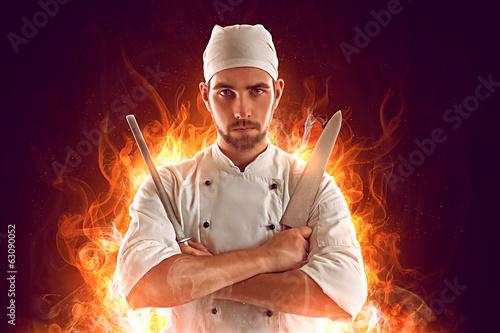 Cook Hero Fototapeta