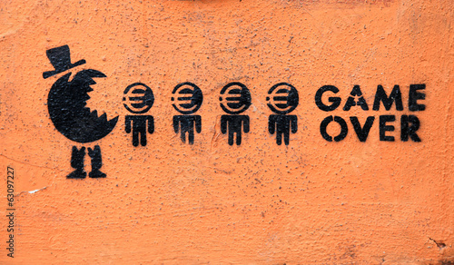 graffiti capitalismo game over 9318-f14