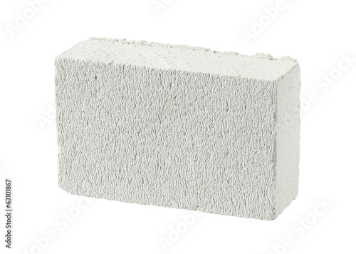 Autoclaved aerated concrete block (foamed lightweight