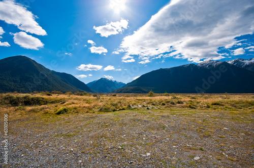 Foto op Canvas Zuid Afrika Southern alpine alps mountain at Arthur's Pass National Park New