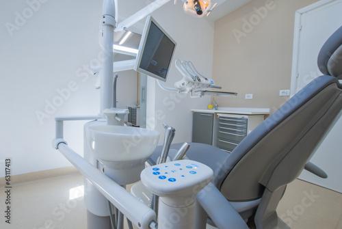 Fotografia  Studio dentistico, Sala Operatoria con strumenti medici