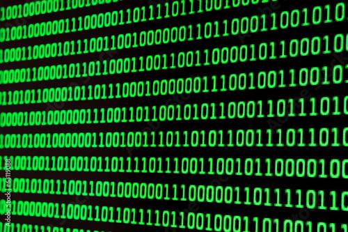 Fotografía  Código binario