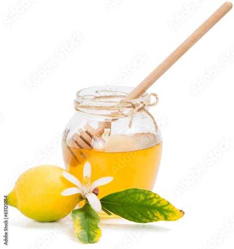 Photo  honey azahar and lemon