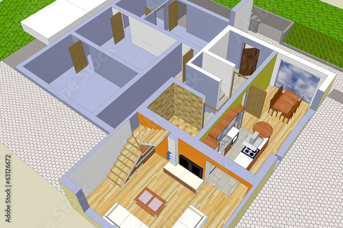 Designing A House And Surroundings